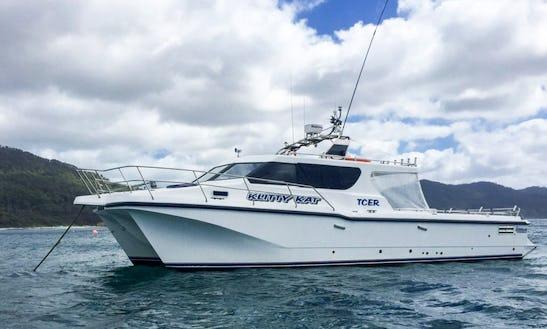 Enjoy Fishing In Eaglehawk Neck, Australia On 40' Power Catamaran