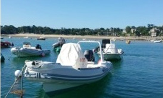 Rent 23' Lomac Rigid Inflatable Boat In Dinard, France