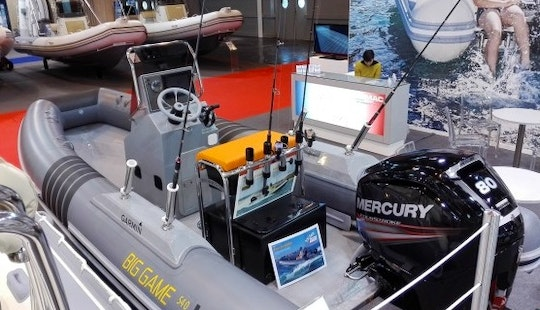 Rent 18' Lomac Rigid Inflatable Boat In Dinard, France