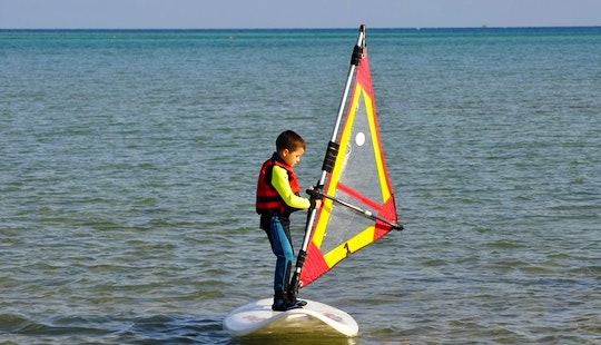 Windsurfing In Red Sea Governorate, Egypt