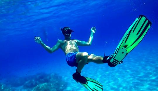 Snorkeling In Ayia Napa, Cyprus