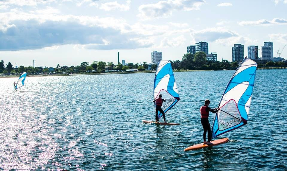 Windsurfing Lessons in København, Denmark