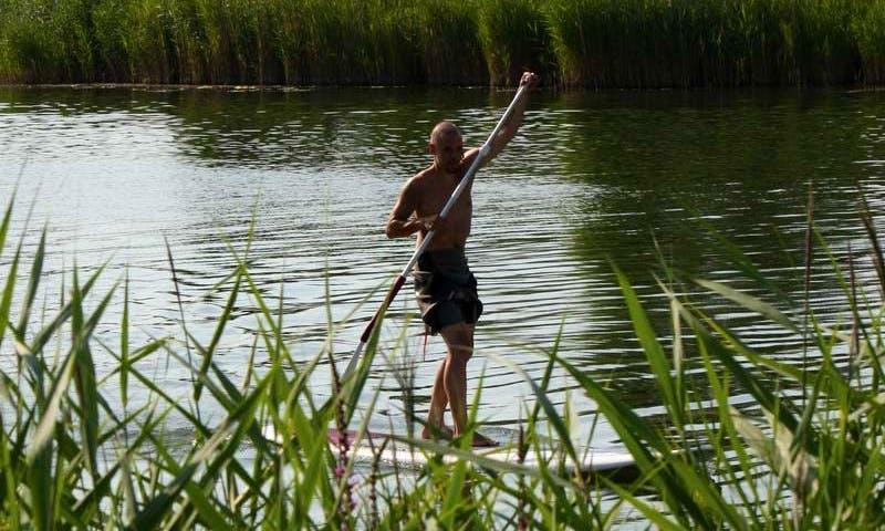 Stand Up Paddle Boarding in Otterndorf, Niedersachsen