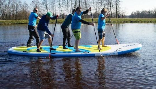 Enjoy Mega Stand Up Paddle Boarding In Otterndorf, Niedersachsen