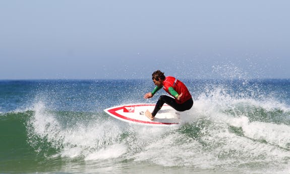 Surf Lessons in Capbreton, France