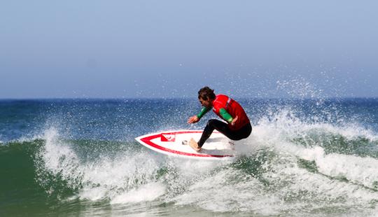 Surf Lessons In Capbreton, France