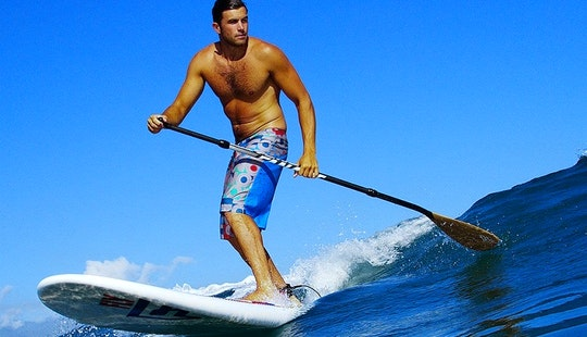 Stand Up Paddleboard Lessons In Capbreton, France