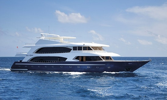 Charter 118' Duke Of York Power Mega Yacht In Maldives