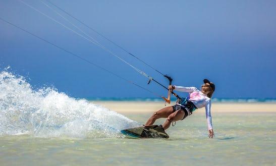 Enjoy Kiteboarding Lessons In Ras Sedr, Egypt