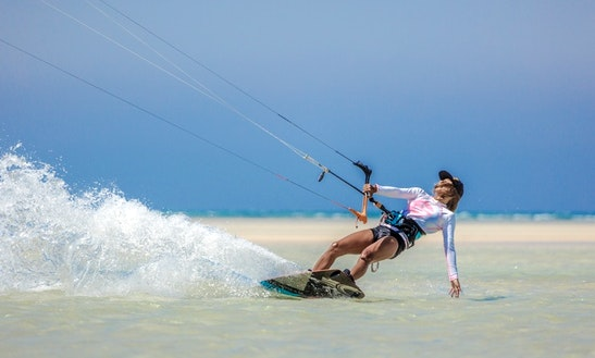Enjoy Kiteboarding Lessons In Ras Sedr, Egypt