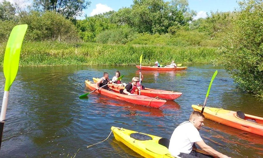 Rent a Double Kayak in Brodnica, Poland