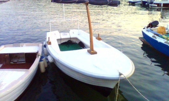 Rent 15' Dinghy In Vela Luka, Croatia