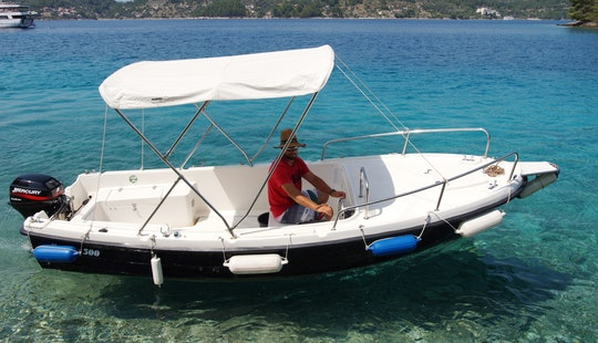 Enjoy The Sea Of Vela Luka, Croatia With This Center Console!