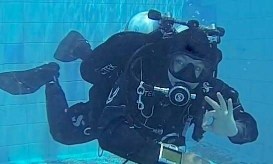 Diving Lesson In East Victoria, Australia