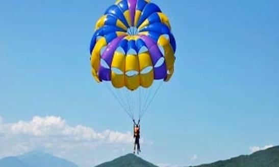 Enjoy Single Parasail Rides In Ayia Napa, Ammochostos