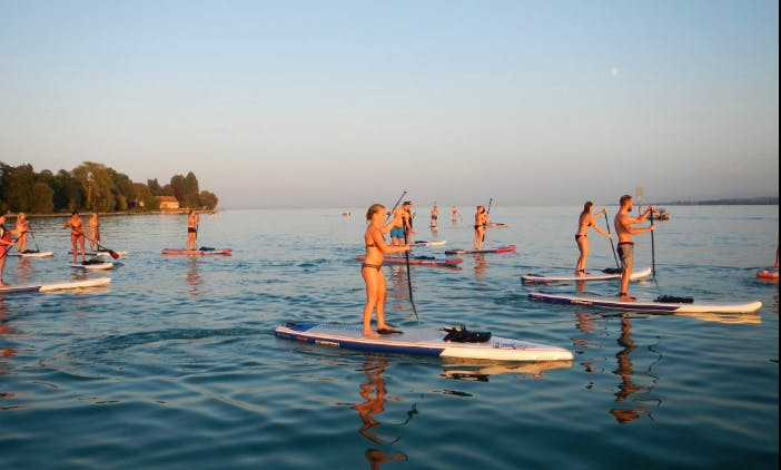 Enjoy Stand Up Paddleboard in Konstanz, Germany