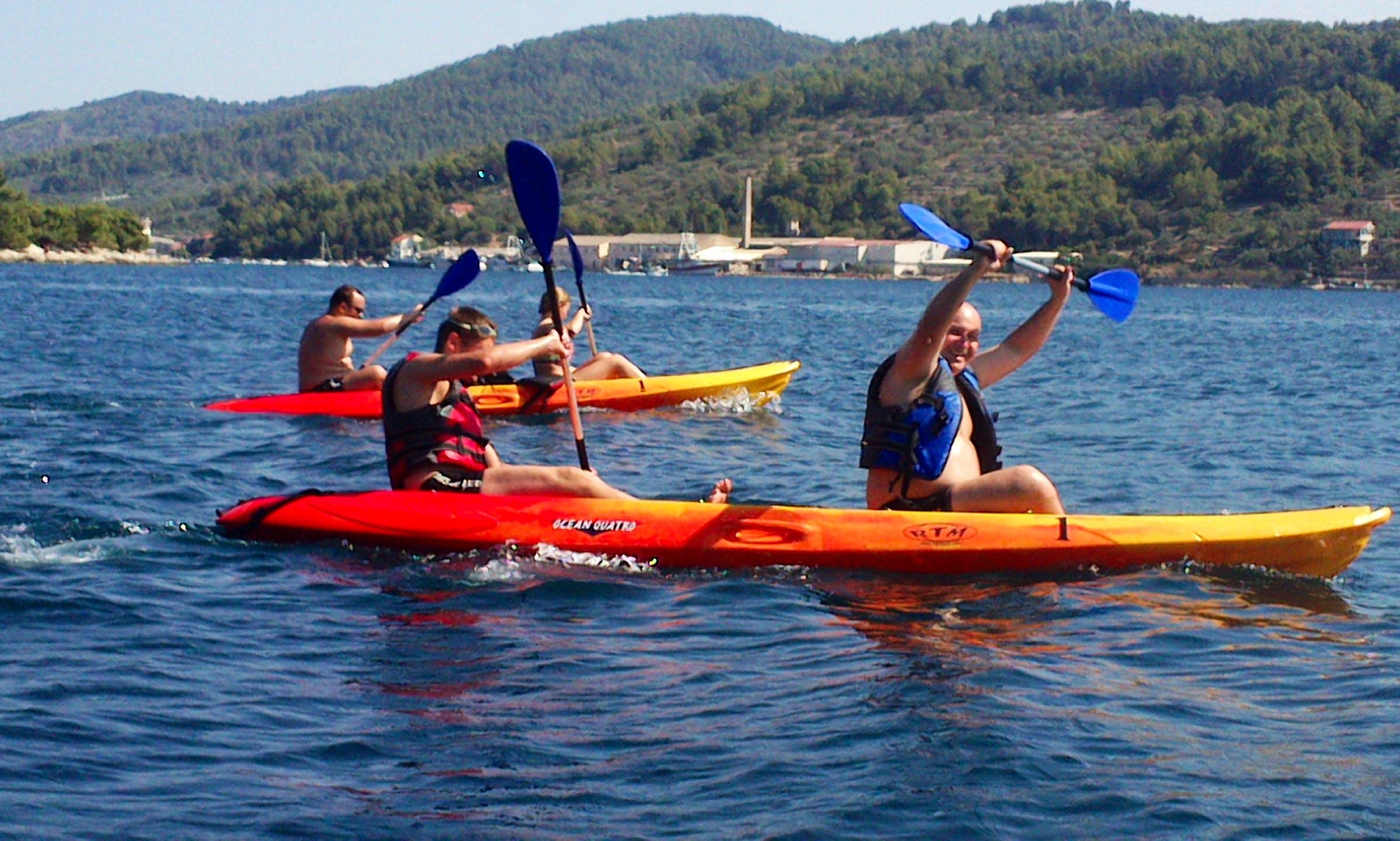 Rent 14' Kayak in Vela Luka, Croatia