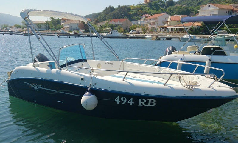 Rent 16' Cobra 500 Bowrider in Supetarska Draga, Croatia