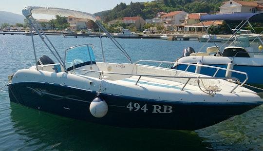 Rent 16' Cobra 500 Bowrider In Supetarska Draga, Croatia