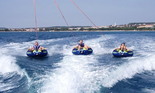 Enjoy Rings Rides In Mlini, Croatia