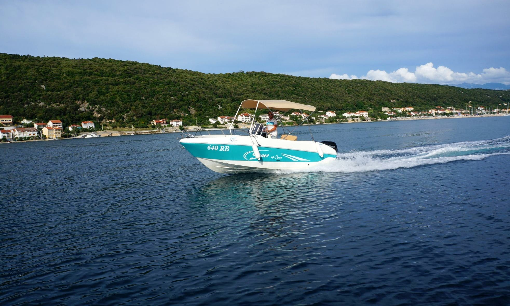 Rent 19' Saver Boat for up to 7 people in Supetarska Draga, Croatia