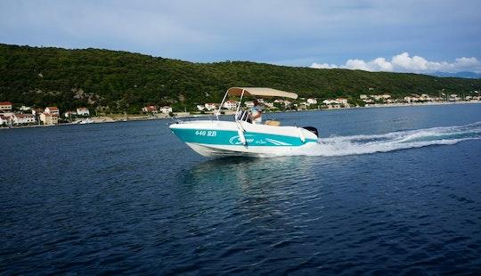 Rent 19' Saver Boat For Up To 7 People In Supetarska Draga, Croatia