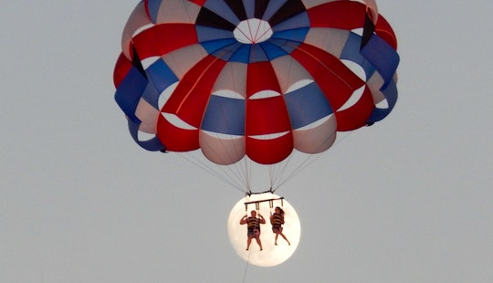 Parasailing In Beach Haven, Nj
