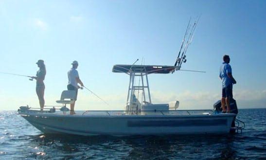 21' Sea Pro Fishing Charter In Ormond Beach