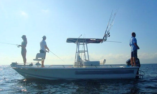 21' Sea Pro Fishing Charter In Ormond Beach