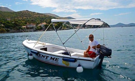 Rent A Dinghy In Zaton, Croatia