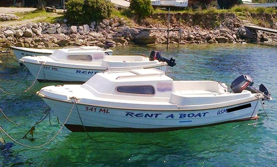 Rent 16' Adria 500 Cuddy Cabin In Mali Lošinj, Croatia