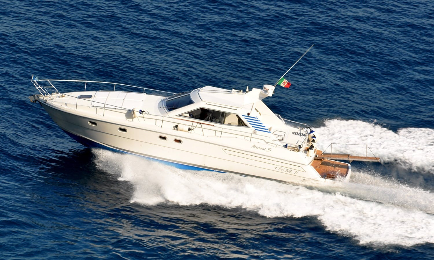 Charter 47' Mistral Motor Yacht in Amalfi, Italy