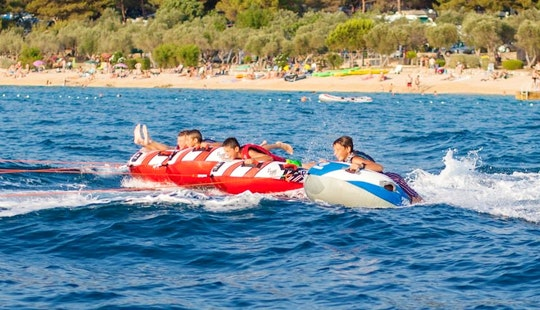 Enjoy Donute Rides In Cres, Croatia