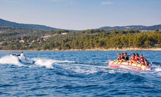 Enjoy Banana Boat Rides Cres, Croatia