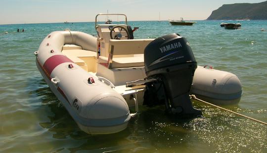 Rent Geb Rigid Inflatable Boat In Lacona, Toscana, Italy