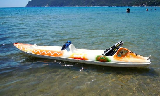 Rent A Double Kayak In Lacona, Toscana, Italy