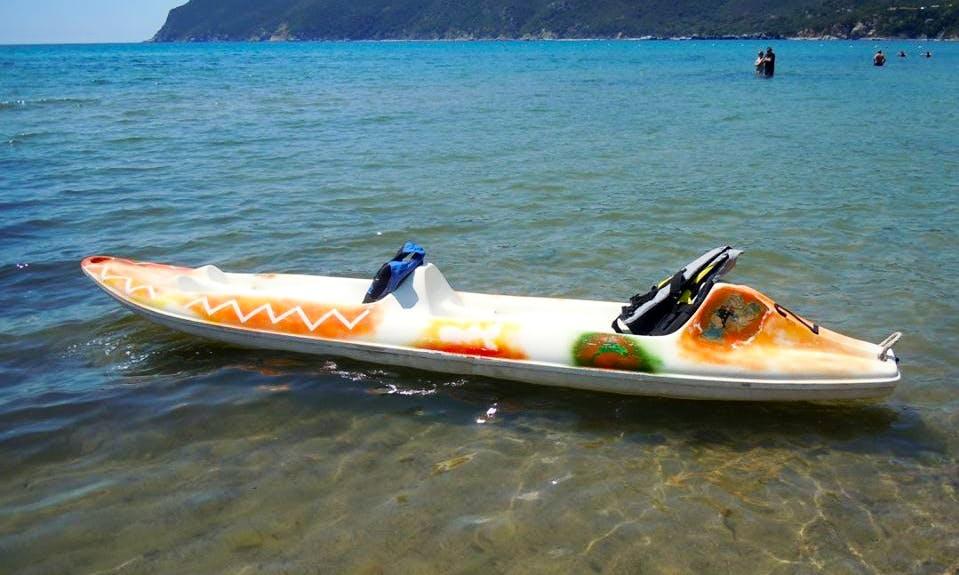 Rent a Double Kayak in Lacona, Toscana, Italy