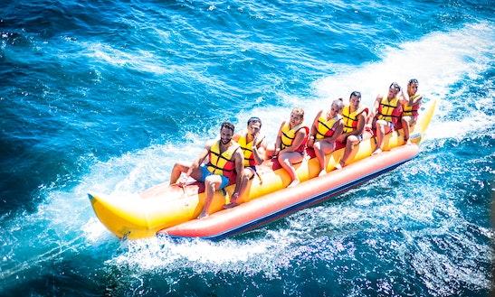 Enjoy Banana Boat Rides In Lacona, Toscana, Italy