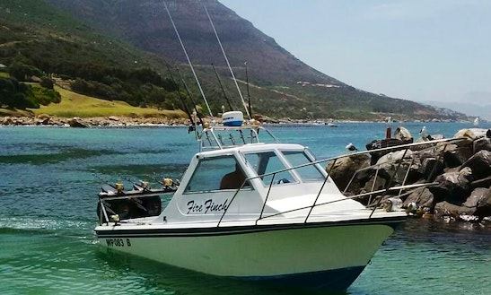 Enjoy Fishing In Cape Town, South Africa On Fire Finch Sport Fisherman