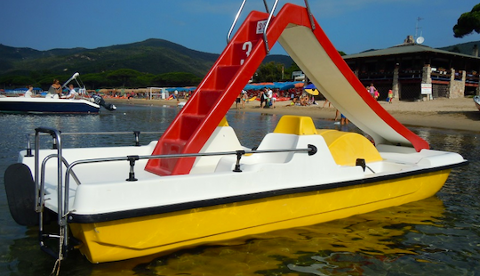 Enjoy Pedal Boat With Slider In Toscana, Italy