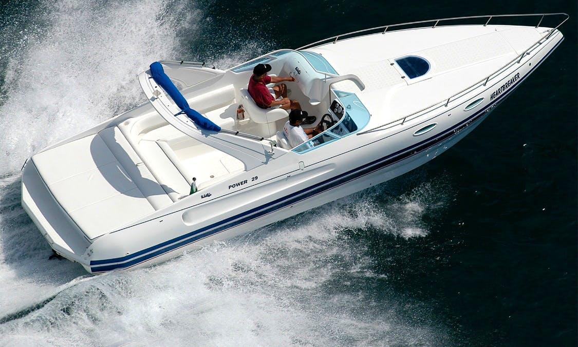 Charter 29' Power Motor Yacht in Lisboa, Portugal