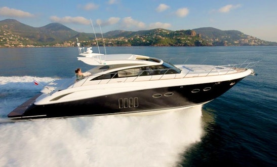 Charter A Princess V62 Yacht With Captain