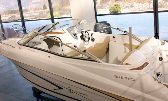 Rent 18' Flyer 650 Motor Yacht In Colico Piano Lc, Italy