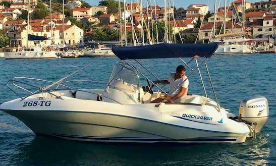 Charter 18' Quick Silver Bowrider In Kaštel Kambelovac, Croatia
