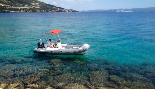 Rent 18' Bwa California Rigid Inflatable Boat In Omiš, Croatia