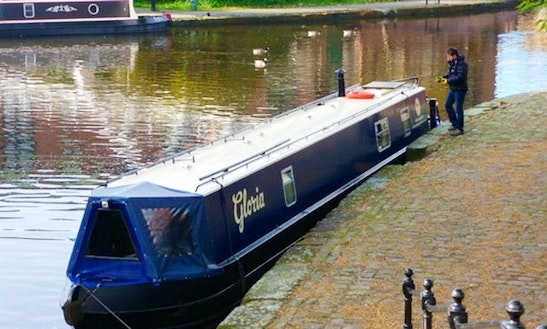 Unique Narrowboat 'gloria' In Manchester, Uk. Since 2012.