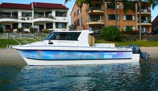 Hire 30' Noosa Cat 3100 Sports Cruiser On The Gold Coast, Australia