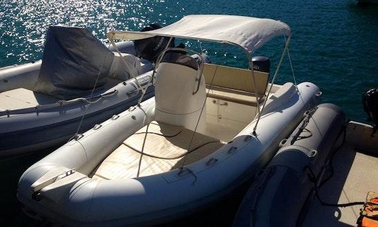 Rent 16' Callegari Rigid Inflatable Boat In Porto Santo Stefano, Italy