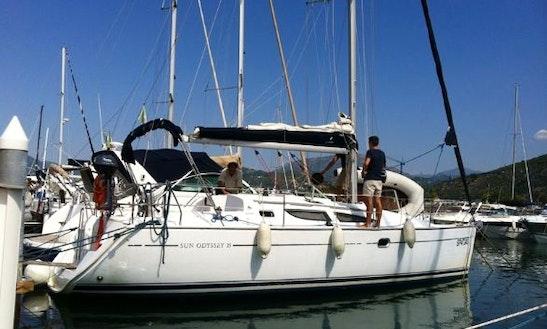 Charter 35' Sun Odyssey Cruising Monohull In Salerno, Italy
