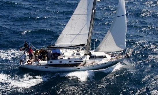 Charter 52' Sun Odyssey Cruising Monohull In Genova, Italy
